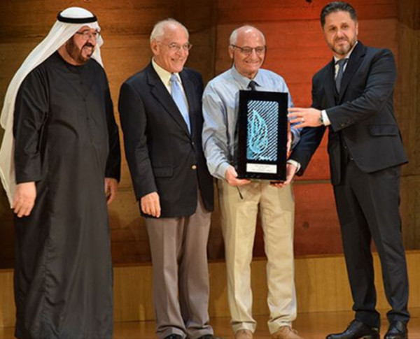 Rachid Yazami, TAKREEM 2018 Laureate, grabs yet another award!